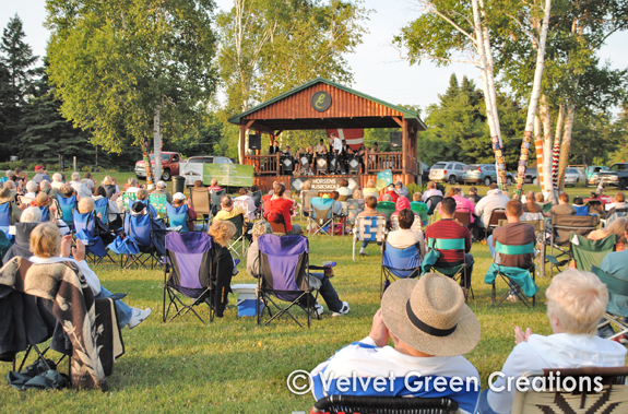 Erickson Center for the Arts | Music in the Park Curtis, MI | Curtis, MI Things to Do