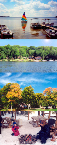 Rental Cabins at Interlaken Resort in Michigan!